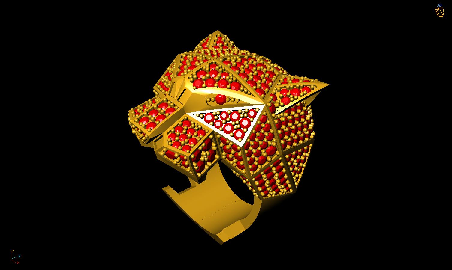4.png Télécharger fichier 3DS gratuit M1199 L'anneau des panthères • Plan pour impression 3D, CreatorWorld