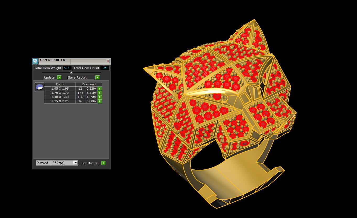 13.png Télécharger fichier 3DS gratuit M1199 L'anneau des panthères • Plan pour impression 3D, CreatorWorld