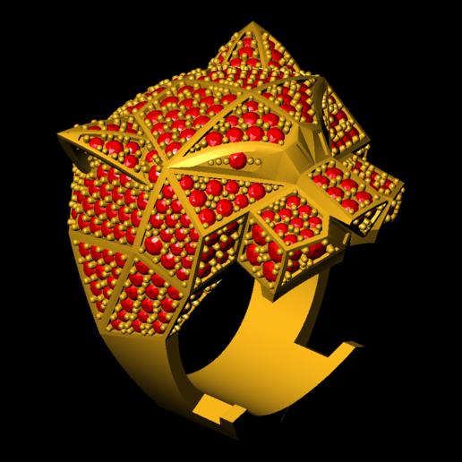 8.png Télécharger fichier 3DS gratuit M1199 L'anneau des panthères • Plan pour impression 3D, CreatorWorld