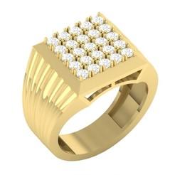 Télécharger fichier STL gratuit CNGR GENTS RING 22 • Objet à imprimer en 3D, CreatorWorld