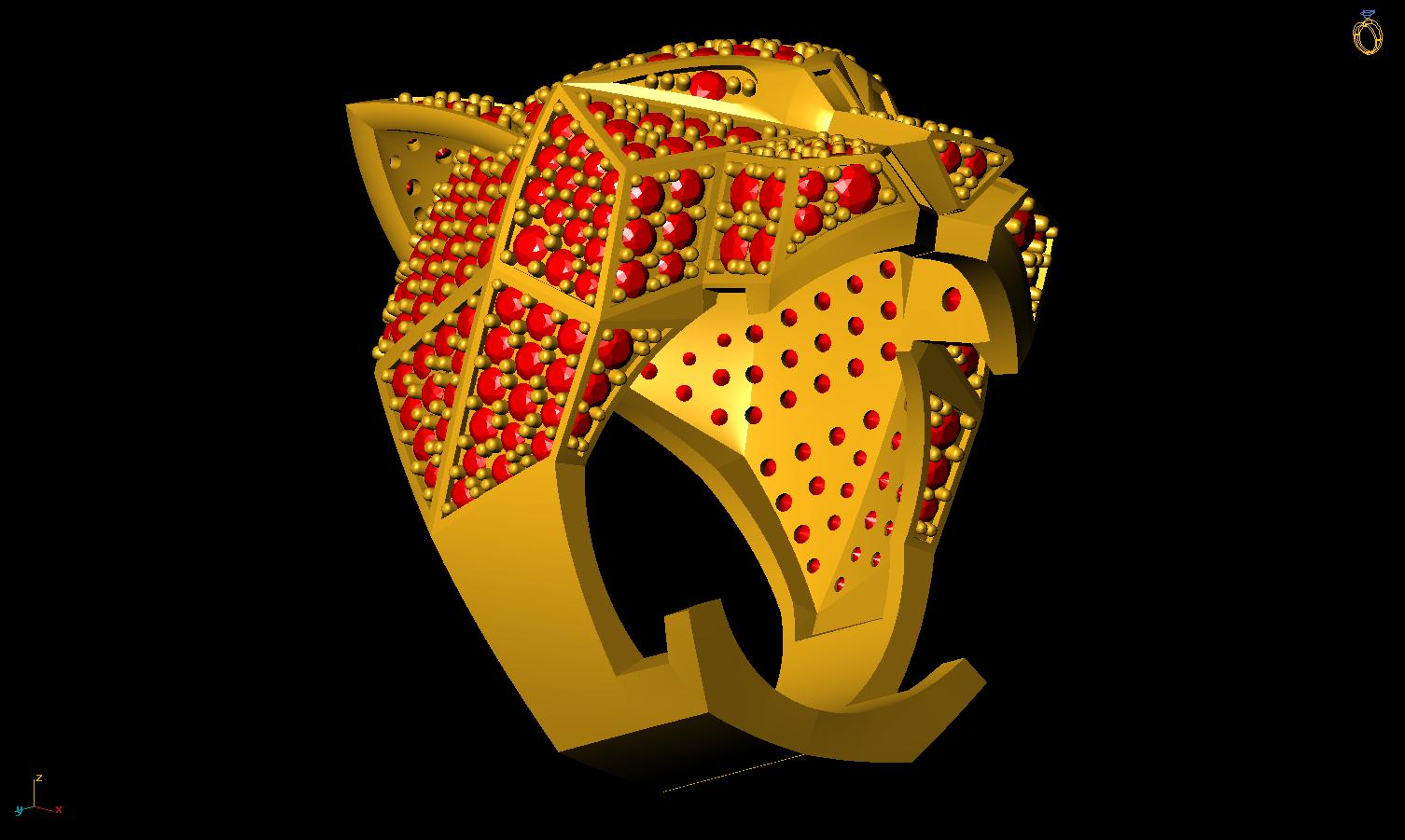 7.png Télécharger fichier 3DS gratuit M1199 L'anneau des panthères • Plan pour impression 3D, CreatorWorld