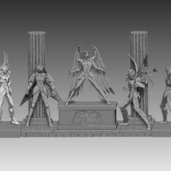 s1.jpg Download STL file saint seiya (knights of the zodiac) divine armour • 3D printer object, lorenRCV