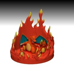 Download 3D model pokemon diorama, lorenRCV