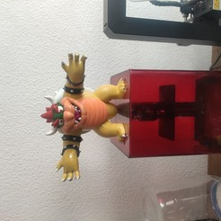 Download free STL file Bowser from Mario games - Multi-color, lorenRCV