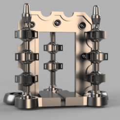 PeelerMachine_v1.png Download free STL file Space zombies Peeler machine • Object to 3D print, Azathot57