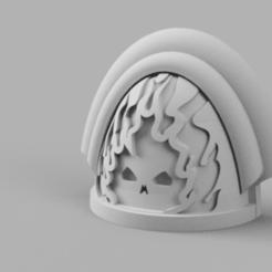 Shoulder_Padraisedof_v2.png Télécharger fichier STL gratuit Épaulettes de Damned II • Design à imprimer en 3D, Azathot57