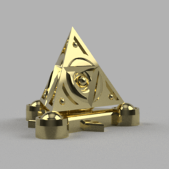 TFNecron_v1.png Download free STL file Space zombies Surcharged Triforce field generator • 3D printable object, Azathot57