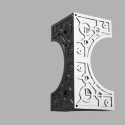 block.png Download free STL file Space zombies Building Pixel (Block) • 3D printer model, Azathot57