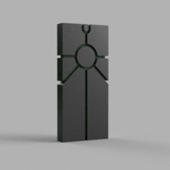 Monolith_v1.png Download free STL file Space zombies monolith • 3D printer template, Azathot57