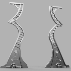 Gate_v1.png Download free STL file Space zombies Feather's Gate • 3D printer template, Azathot57