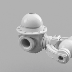 tripod.png Download free STL file Relics of Mars : Goliath chassis (DC compatible) • 3D printing model, Azathot57