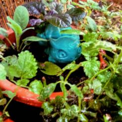 Bulbasaur.png Download free STL file Sturdy bulbasaur planter • Template to 3D print, Azathot57