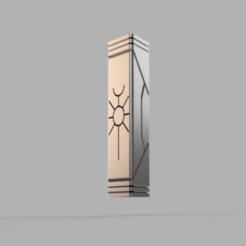 kEYSTONE_v2.png Download free STL file Space zombies keystone • Object to 3D print, Azathot57