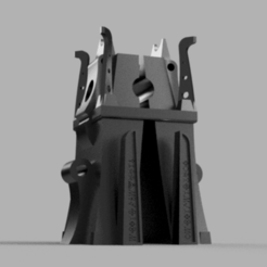 ziggurat_v1.png Download free STL file Space zombies Ziggurat • 3D printing model, Azathot57
