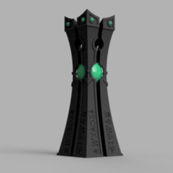 convergence_stone_v1.png Download free STL file Space zombies Convergence pillar • 3D printable design, Azathot57