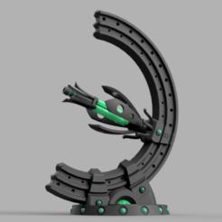 gauss_v10.png Télécharger fichier STL gratuit Zombies de l'espace Tourelle de soutien • Modèle imprimable en 3D, Azathot57