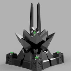Lotus.png Download free STL file Space zombies Entropic Lotus Generator • 3D printing design, Azathot57