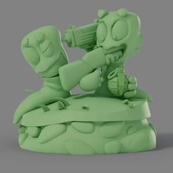 Descargar Modelos 3D para imprimir gratis Worms, Sayvision
