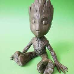 Download free 3D printing designs Baby Groot, Sayvision