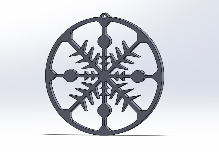 copet 1_2.JPG Download free STL file Christmas ornament • 3D printing model, MYLITTLE3DDESIGNS