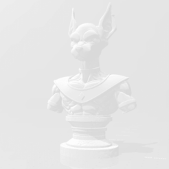 Download free 3D printing templates Beerus bust Dragon Ball, Palacios99