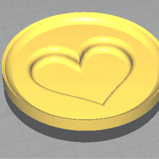 Download free 3D printer designs Mould for heart chocolates, ISOME3KS