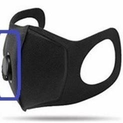 Descargar archivo 3D exalation valve mask N95 - covid 19, FLEXIPLEX