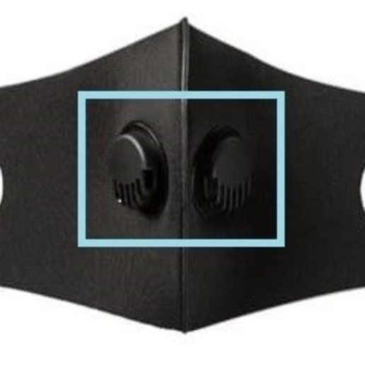 Télécharger plan imprimante 3D masque de soupape d'expiration N95, FLEXIPLEX