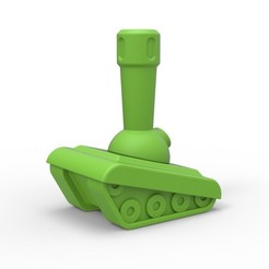 Download 3D printing files Tank anal plug, AdultPrint