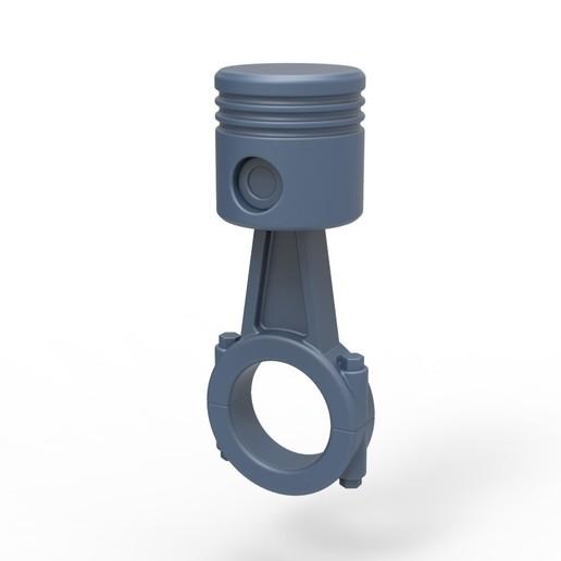 Download 3D printing designs Piston anal plug, AdultPrint