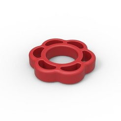 Download 3D printer model Valve handle cock ring, AdultPrint