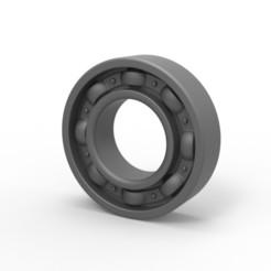 Download 3D printing files Bearing cock ring, AdultPrint