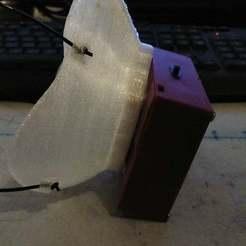 IMG_20201007_142944.jpg Télécharger fichier STL gratuit Ventilateur rechargeable pour masque Montana • Plan pour impression 3D, Baireid