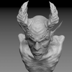 Download free 3D printing templates Devil, Lightbringeroth
