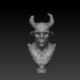 Download free 3D printing templates Pan Goatman bust, Lightbringeroth