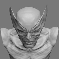 Download free STL file Wolverine bust, Lightbringeroth