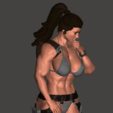 Download free OBJ file Lara Croft • 3D printer design, mizke