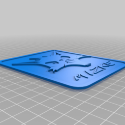 Download free STL file Mizke logo • 3D printing object, mizke