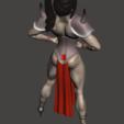 Download free STL file Muscle woman  (low poly) • 3D printing model, mizke
