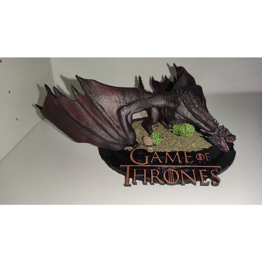 Download free STL Drogon, Zaccer