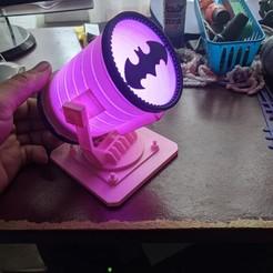 Télécharger fichier imprimante 3D BAT LAMP, darinb2010