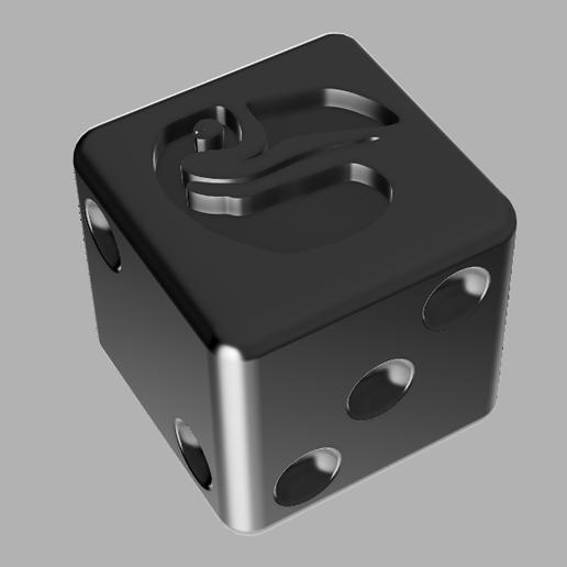 Download free STL file Dé Perudo • 3D printing design, Warg