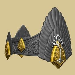 Descargar archivo 3D Corona de Aragón, El Señor de los Anillos, El Retorno del Rey, Archivo .STL imprimible en 3D, ShepherdCreations