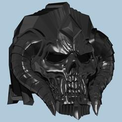 Descargar diseños 3D Proyecto Ebonblade Caballero de la Muerte Anduin Wrynn Casco de la Calavera de World of Warcraft, ShepherdCreations