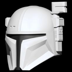 Descargar modelo 3D Casco de Infantería Pesada Mandaloriano, llevable, imprimible, archivo.stl. Cosplay, ShepherdCreations