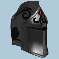 2.png Télécharger fichier STL Casque Fortnite Black Knight • Objet à imprimer en 3D, ShepherdCreations