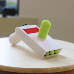 Download free 3D printer templates Multi-Color Portal Gun (Rick and Morty), sabrilagab