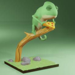 untitled.png Télécharger fichier 3MF Caméléon • Modèle imprimable en 3D, QuetzArt