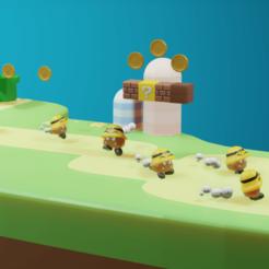 Descargar modelos 3D Marioman, QuetzArt