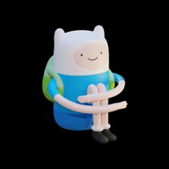 finn render.png Download STL file Finn the Human Adventure Time • 3D print template, anichinidaniel